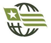US Flag Subdued OD GREEN /& BLACK Belt Buckle United States USA military//police